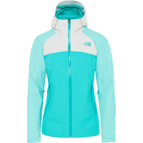 The North Face Stratos Jacket Women ion blue/mint blue/tin grey